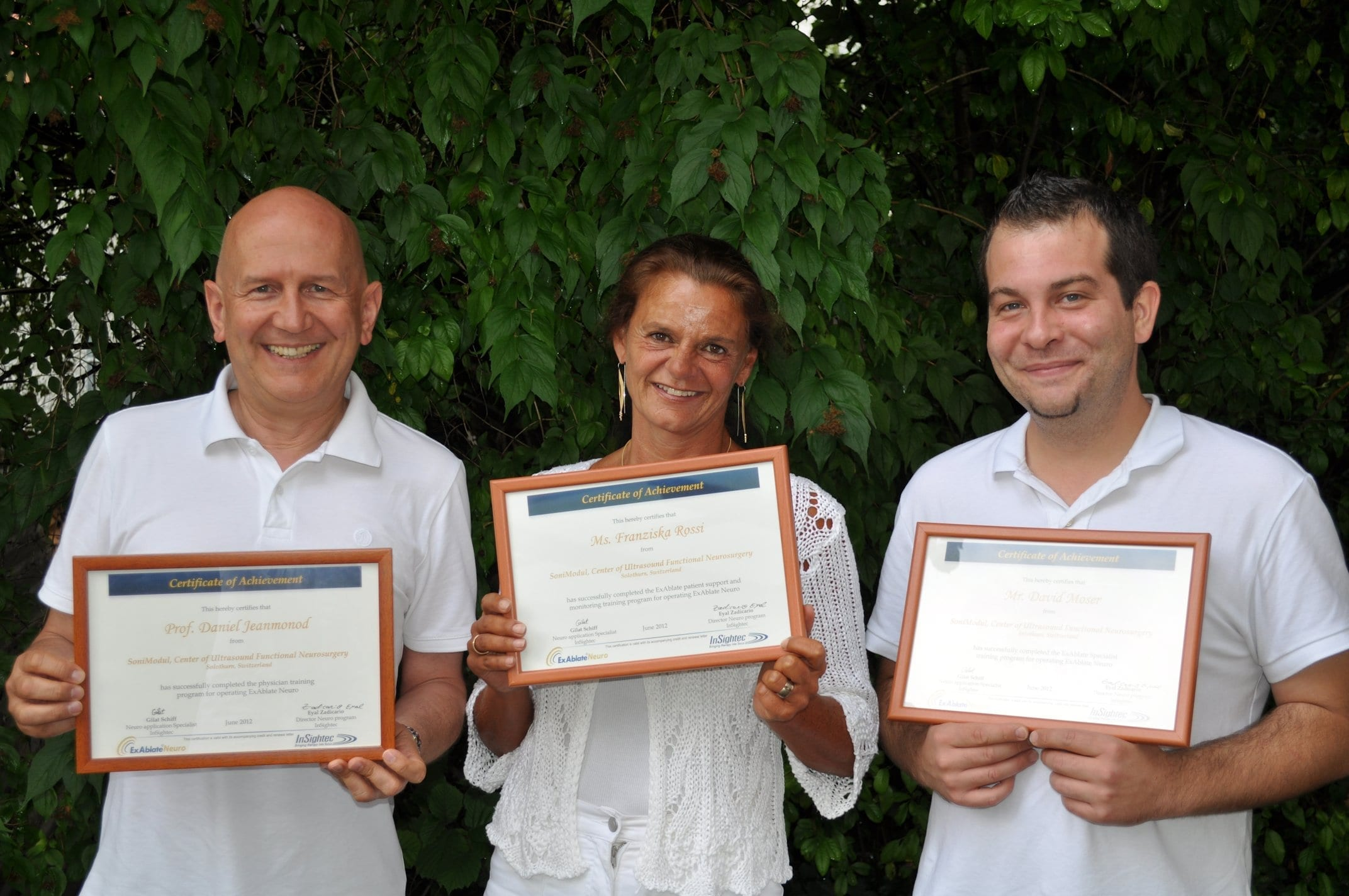 SoniModul - The first team to get the InSightec certification for standalone treatments